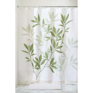 Zasłona prysznicowa InterDesign Leaves SC obraz