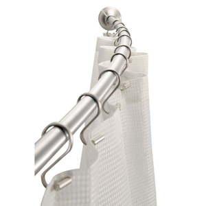 Regulowany nierdzewny drążek na zasłonę prysznicową iDesign Cameo obraz