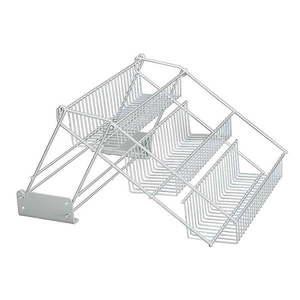 Wysuwany stojak na słoiczki z przyprawami Metaltex Up&Down obraz