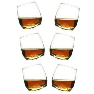 Zestaw 6 bujających się szklanek do whisky Sagaform, 200 ml obraz