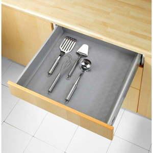 Beżowa antypoślizgowa podkładka do szuflady Wenko Anti Slip Mat 500, 150x50 cm obraz