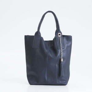 Niebieska torebka skórzana Giorgio Costa Lauretta obraz