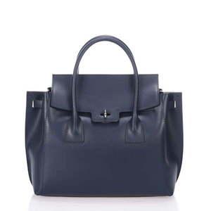 Skórzana torebka Bella Blue obraz