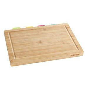 Deska do krojenia z drewna bambusowego Wenko, 32, 5x22, 5 cm obraz