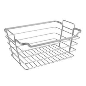Stalowy koszyk łazienkowy Metaltex Basket obraz
