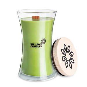 Świeczka z wosku sojowego We Love Candles Green Tea, czas palenia 150 h obraz