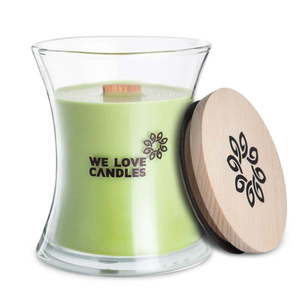 Świeczka z wosku sojowego We Love Candles Green Tea, 129 h obraz