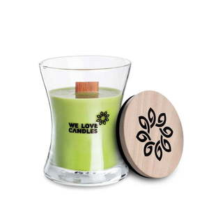 Świeczka z wosku sojowego We Love Candles Green Tea, 48 h obraz