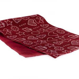 Czerwony bieżnik Dakls, 40x120 cm obraz
