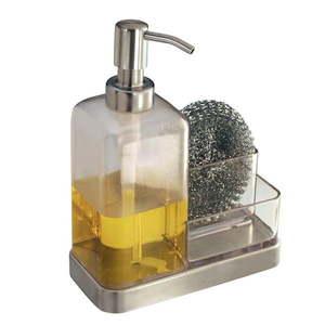Pojemnik na gąbki i dozownik do mydła iDesign Forma obraz