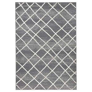 Ciemnoszary dywan Hanse Home Rhombe, 160x230 cm obraz