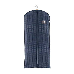Granatowy pokrowiec na sukienkę Domopak Metrik obraz