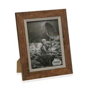 Drewniana ramka na zdjęcie Versa Madera Marron, 15x20 cm obraz