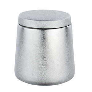 Pojemnik ceramiczny w srebrnej barwie Wenko Glimma obraz