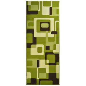 Zielony dywan Hanse Home Hamla Retro, 80x200 cm obraz