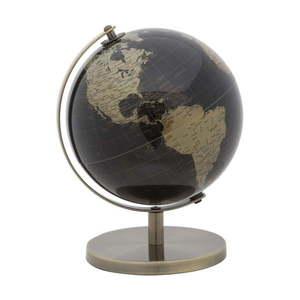 Globus dekoracyjny w brązowej barwie Mauro Ferretti Mappamondo, ⌀ 20 cm obraz