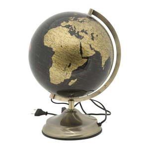 Lampa stołowa w kształcie globusu Mauro Ferretti Globe Bronze, ø 25 cm obraz