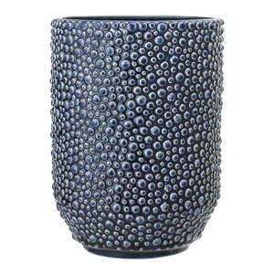 Niebieski wazon ceramiczny Bloomingville Vase obraz