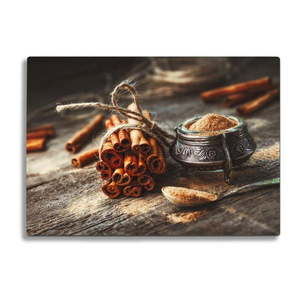 Szklana deska do krojenia Insigne Cinnamon obraz