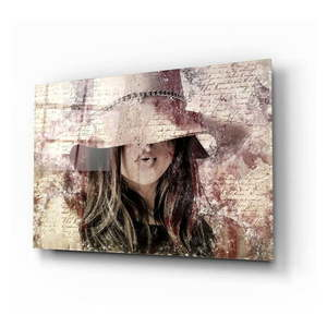 Obraz szklany Insigne Mysterious Woman obraz