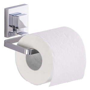 Uchwyt na papier toaletowy z przyssawką Wenko Vacuum-Loc Quadrio, do 33 kg obraz