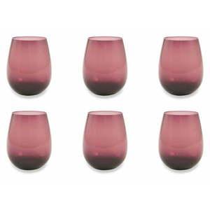 Zestaw 6 fioletowych szklanek Villa d'Este Happy Hour obraz