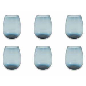 Zestaw 6 niebieskich szklanek Villa d'Este Happy Hour obraz