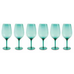 Zestaw 6 jasnoniebieskich kieliszków Villa d'Este Happy Hour obraz