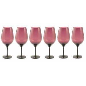Zestaw 6 fioletowych kieliszków Villa d'Este Happy Hour obraz