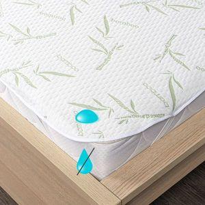 4Home Bamboo wodoodporny ochraniacz na materac z gumką, 90 x 200 cm, 90 x 200 cm obraz