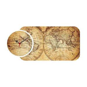 2-częściowy zegar ścienny Colombo obraz