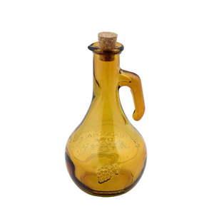 Żółta butelka na ocet ze szkła z recyklingu Ego Dekor Di Vino, 500 ml obraz