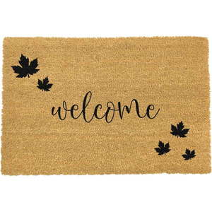 Wycieraczka z naturalnego włókna kokosowego Artsy Doormats Welcome Autumn, 40x60 cm obraz
