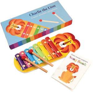 Cymbałki dla dzieci Rex London Charlie the Lion obraz