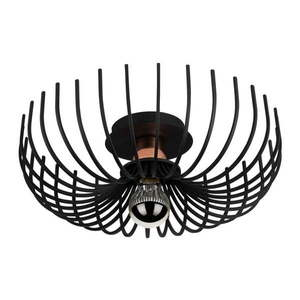Czarna lampa sufitowa Opviq lights Aspendos, ø 36 cm obraz