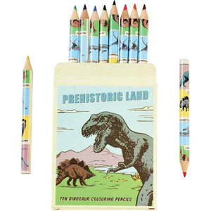 Zestaw 10 kredek w etui ze zwierzątkami Rex London obraz