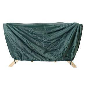 Pokrowiec na dwuosobowy fotel drewniany, Zielony Siena Due Cover obraz