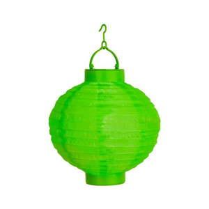 Zielony ogrodowy lampion solarny LED Best Season Summer, ø 30 cm obraz