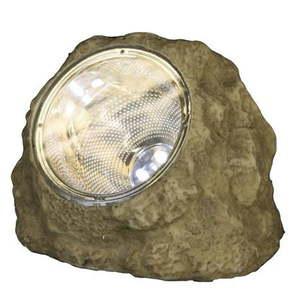 Solarna lampa ogrodowa LED Best Season Stone obraz
