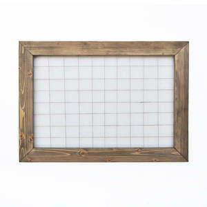 Kratka/organizer z drewnianą ramą, 70x50 cm obraz