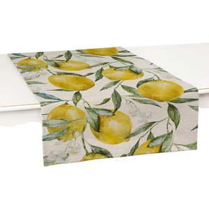 Zestaw 2 bieżników Linen Couture Lemons obraz