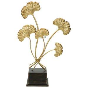 Świecznik w kolorze złota Mauro Ferretti Oasis obraz