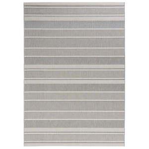 Szary dywan odpowiedni na zewnątrz Bougari Strap, 160x230 cm obraz