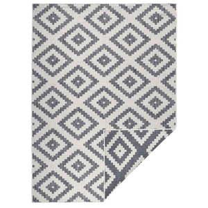 Szary dywan dwustronny Bougari Malta, 200x290 cm obraz