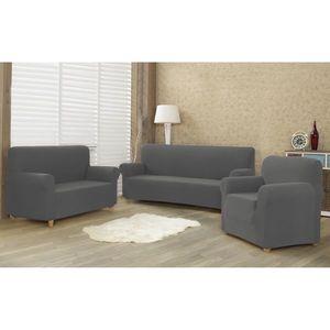 4Home Multielastyczny pokrowiec na kanapę 2-os. Comfort, szary, 140 - 180 cm, 140 - 180 cm obraz