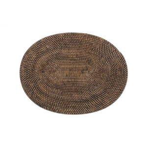 Brązowa rattanowa mata stołowa Tiseco Home Studio, 30x40 cm obraz