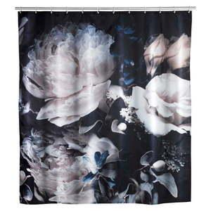 Zasłona prysznicowa odpowiednia do prania Wenko Peony, 180x200 cm obraz