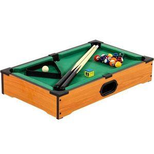 Mini pool bilard 51 x 31 x 10 cm obraz
