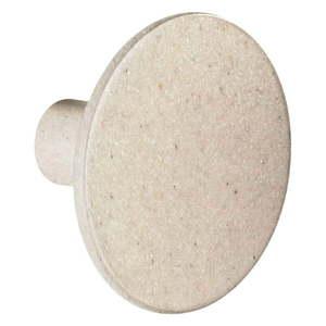 Beżowy haczyk ścienny Wenko Melle, ⌀ 6 cm obraz