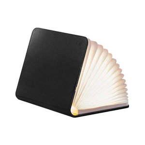 Czarna lampa stołowa LED w kształcie książki Gingko Mini obraz